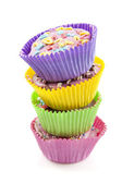 Delicious cup cakes — Stock Photo