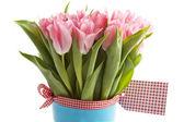 Tulipas cor de rosa — Fotografia Stock