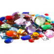 Stock Photo: Pile of gems