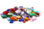 Pile of gems — Stock Photo