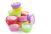 Colores pasteles deliciosos cup — Foto de Stock