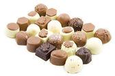 Sweet luxury chocolate — Stock Photo