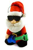 Santa's rock and roll — Photo