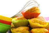 Colorful muffins — Stock Photo