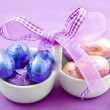 Purple easter fun — Stock Photo