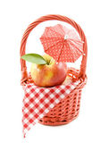 Apple picknick — Stockfoto