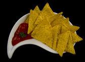 Tasty nachos — Stock Photo