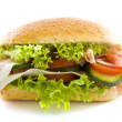 Big healthy sandwich — Stock Photo #6097975