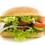 ������, ������: Big healthy sandwich