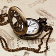 Vintage pocket watches — Stock Photo