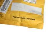 Fragile, handle with care. — Stock Photo