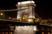 Bridge by night — Stockfoto