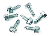 Group of screws for metal — Stock Photo
