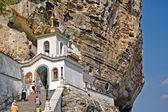乌斯片斯基修道院在克里米亚巴赫齐伊喷泉附近 — 图库照片
