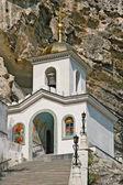 Uspenskiy kloster i krim nära lerum — Stockfoto