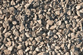 Texture of medium-sized gravel — Stock Photo