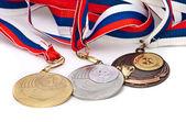 медаль спорта российской федерации — Стоковое фото