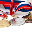 Stock Photo: Sports Medal of RussiFederation