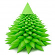 Stock Photo: Toy Christmas tree