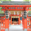 Japanese shrine — Stock Photo