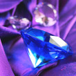Royalty-Free Stock Photo: Blue sapphire