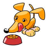 Fuffy little dog — Stockfoto