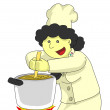 Mom cook — Stock Photo #5442485