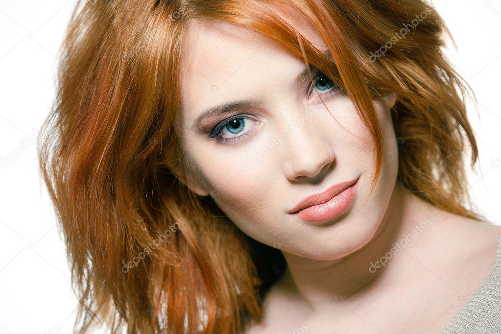 Natural Red Hair Women