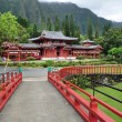 Stock Photo: Byodo-In Buddhist Temple