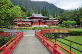 Byodo-In Buddhist Temple — Stock Photo
