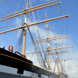 Stock Photo: Historic schooner