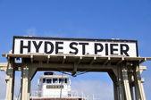 Historic Hyde Street Pier — Stock Photo
