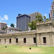 Iolani Barracks, Honolulu, Hawaii — Stock Photo