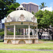 Royal Bandstand, Honolulu, Hawaii - Stock Photo