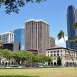Honolulu skyline — Stock Photo