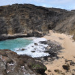 From here to eternity beach, hawaii — 图库照片