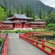 Stock Photo: Byodo-In Buddhist Japanese Temple
