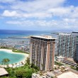 Hotel Lagoon, Waikiki — Stock Photo