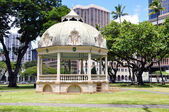 Palco reale, honolulu, hawaii — Foto Stock
