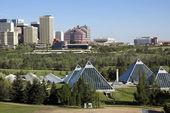 Conservatory building Edmonton — Stock Photo