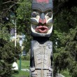 Stock Photo: Totem pole