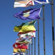 Stock Photo: Canadiprovincial flags