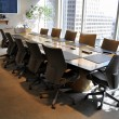 Stock Photo: Corporate meeting room