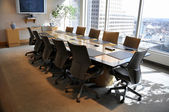 Corporate meeting room — Stock Photo