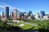 Calgary Skyline — Stock Photo