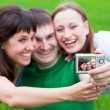 Royalty-Free Stock Photo: Photographing of themself