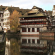 Part of petite france in strasbourg — Stock Photo