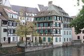 část petite france ve štrasburku — Stock fotografie