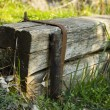 Stock Photo: Wooden step