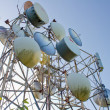 Stock Photo: Telecommunications on sky